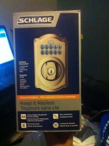 Keypad Deadbolt (Schlage)