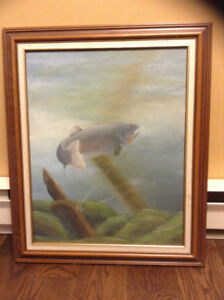 Painting - The Fish