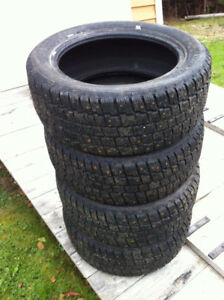 Winter Tires 205/55-16 studded