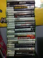 Lots of xbox 360/xbox/ps2/ps3/ps1 games
