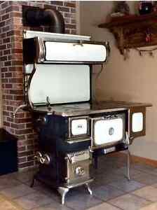 Elmira oval wood cook  stove