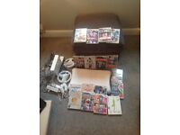 Nintendo Wii with accessories and games bundle
