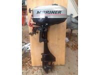 3.3 hp outboard. Mariner