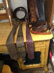 Cravates et ceintures