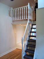 Great 1 Bedroom Loft on two stories with Deck Roncesvales High P