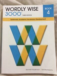 Wordly wise 3000 book 4 for grade 4 Oakville / Halton Region Toronto (GTA) image 1