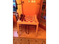 Large chess table