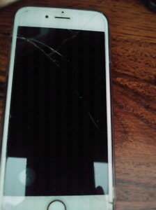 Selling a cracked I phone 6s