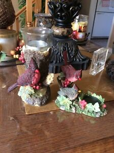 Cardinal candle holders Cornwall Ontario image 1