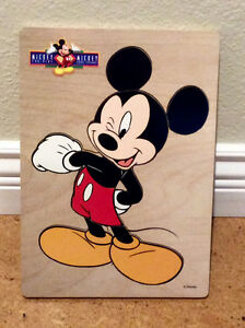 Mickey Mouse wooden puzzle