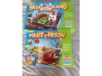 Two children's pirate theme boardgames
