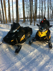 Two GREAT Ski-doos for sale, awesome shape, low kms