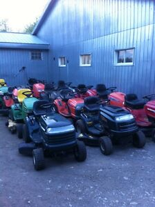 Wanted lawn tractors lawn mowers