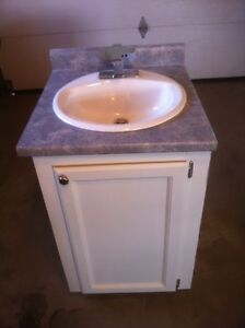 Bathroom Vanity - 22`` with sink and faucet
