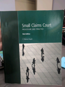 Small claims court procedure and practice - 3rd edition