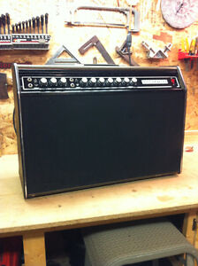 Rare solid state Sonax 750G Amp. w/dual foot switch.