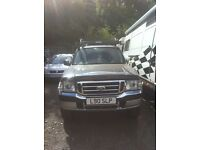 SPARES & REPAIRS - Ford Ranger 2.5TD 2003 Double Cab