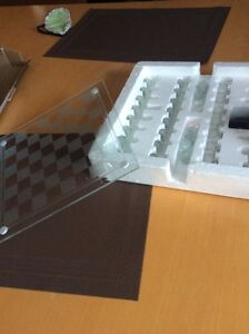 Glass Chess and Checkers Cambridge Kitchener Area image 2