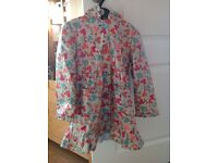 Marks and Spencers girls coat mac age 4-5