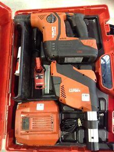 Ensemble hammer drill Hilti (30 jours garantis)