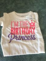 I'm the birthday princess shirt brand new with tags 2T