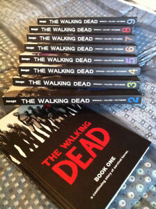 The Walking Dead - Hard Cover Books