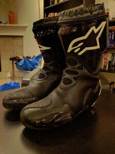 Alpinestars Supertech Boots, Almost New