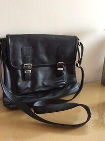 Black Satchel style bag (M&S)