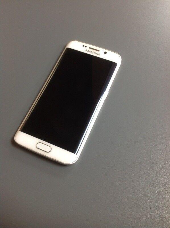 Samsung Galaxy S6 Edge - 32GB - Unlocked - White - 4G - Good Condition - With Receipt