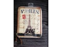 Paris tablet case - brand new