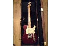 Fender MIM Telecaster with Hard Case.