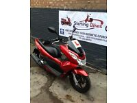 2013 HONDA PCX PCX125 RED 1 YEAR MOT NEW TYRES