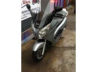 HONDA S-WING 125 FES FOR SALE 1 YEAR MOT LOW MILEAGE NEW SERVICE - STERLING