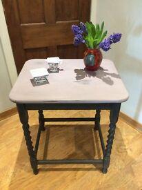 Vintage Table solid mahogany