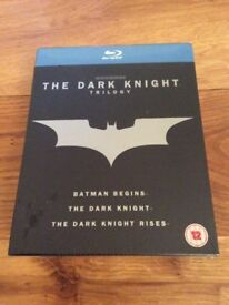 NEW - Blueray Box Set - Batman - The Dark Knight Rises