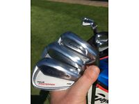 Taylor Made Tour Preferred MC Forged irons £299 KBS Tour stiff