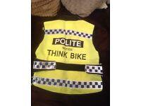 Hi viz motorcycle vest