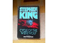 Very RARE Stephen king cycle of the werewolf
