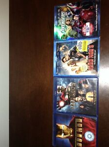 IronMan Trilogy with Avengers 2 disc combo pack