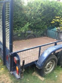 Bateson four wheel trailer