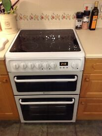 Hotpoint HAE60PS 60cm Double Oven (new - 10 month guarantee)