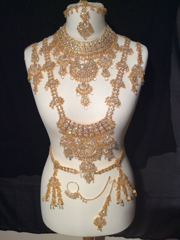 Bollywood bridal jewellery