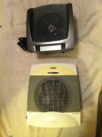 Two Electric Heaters