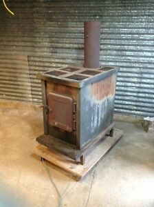 Wood fireplace / furnace