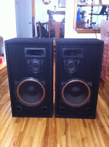 Large speakers for sale! Cambridge Kitchener Area image 1