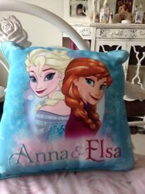 Anna & Elsa Disney frozen cushion