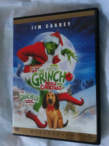 ▀▄▀Dr Seuss How The Grinch Stole Christmas DVD Collectors Ed.