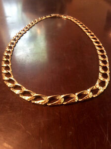 SELLING THICK 10K GOLD DIAMOND LINK CHAIN 1750 IF GONE BY JUNE31