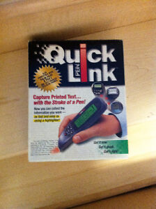 Quick Link scanning pen