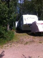 PINE LAKE - 5TH WHEEL / SITE for SALE @ Leisure Campground